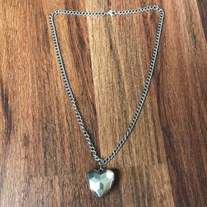 AE Heart Necklace
